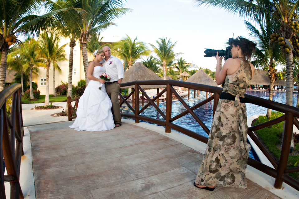 Michelle Stevens is a photographer specializing in destination weddings in the Riviera Maya Mexico
